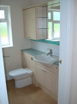 We design bathrooms in